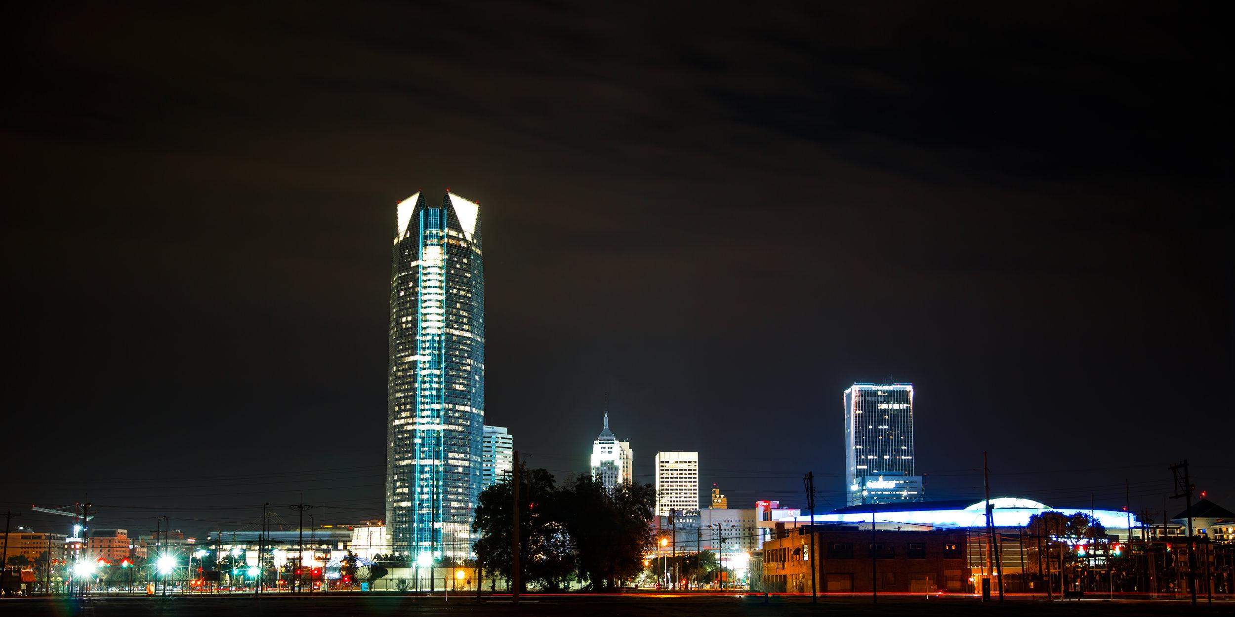 oklahoma city skyline at night downtown long exposure.jpg