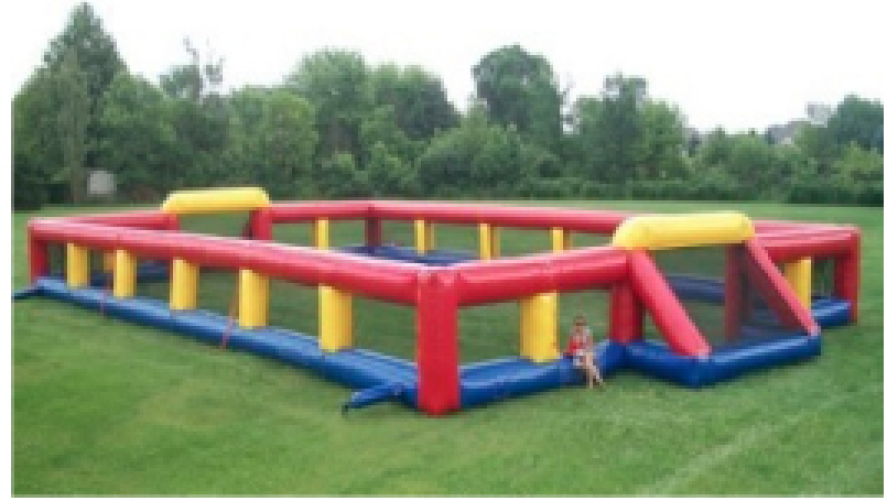 75'x43'x8' Soccer and Human Foosball Field   $425