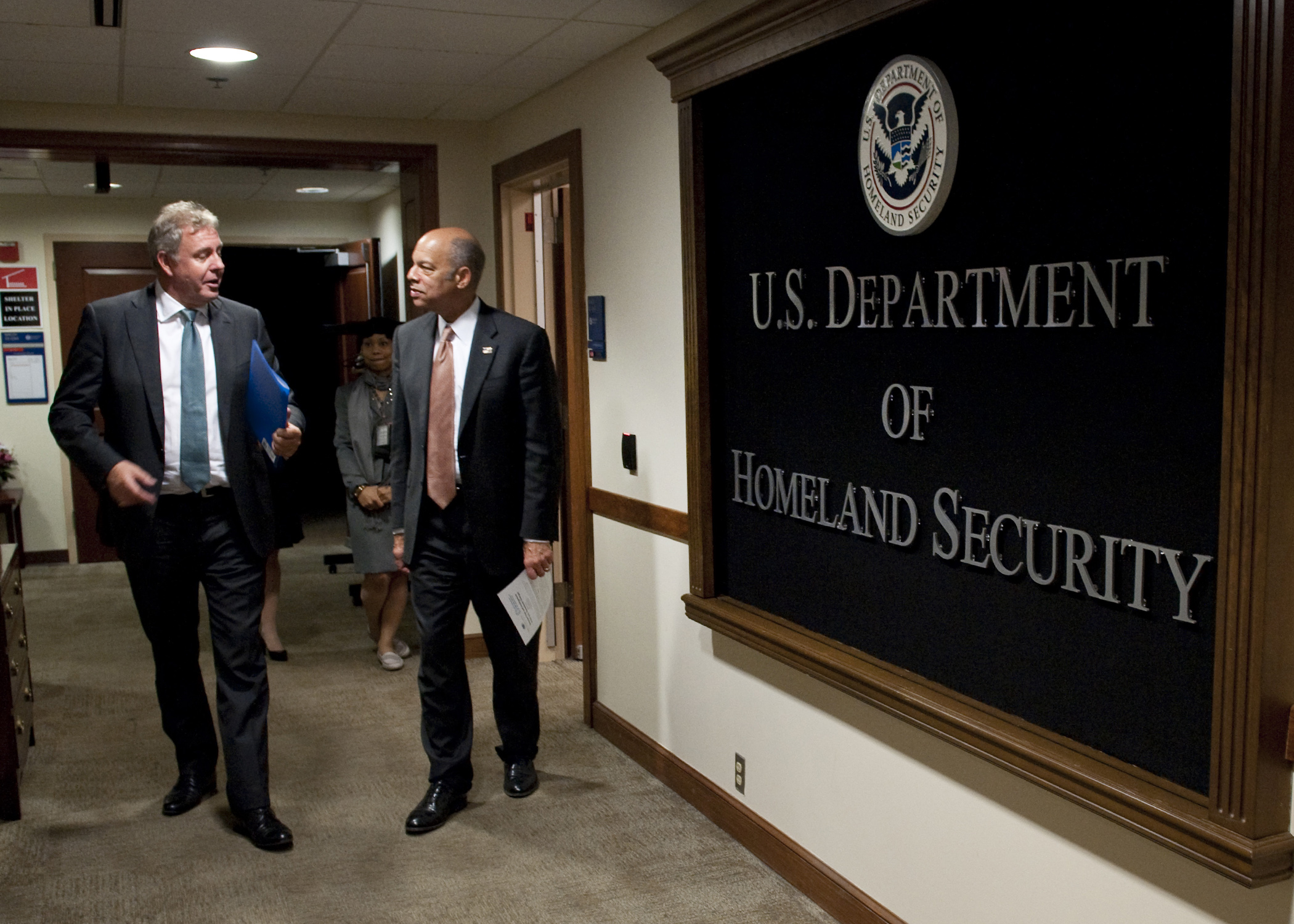 Ken Wyatt, minister for indigenous Australians and the first Aboriginal person ever to hold the role, during his visit to U.S. Department of Homeland Security in 2016. | Credit:  U.S. Department of Homeland Security