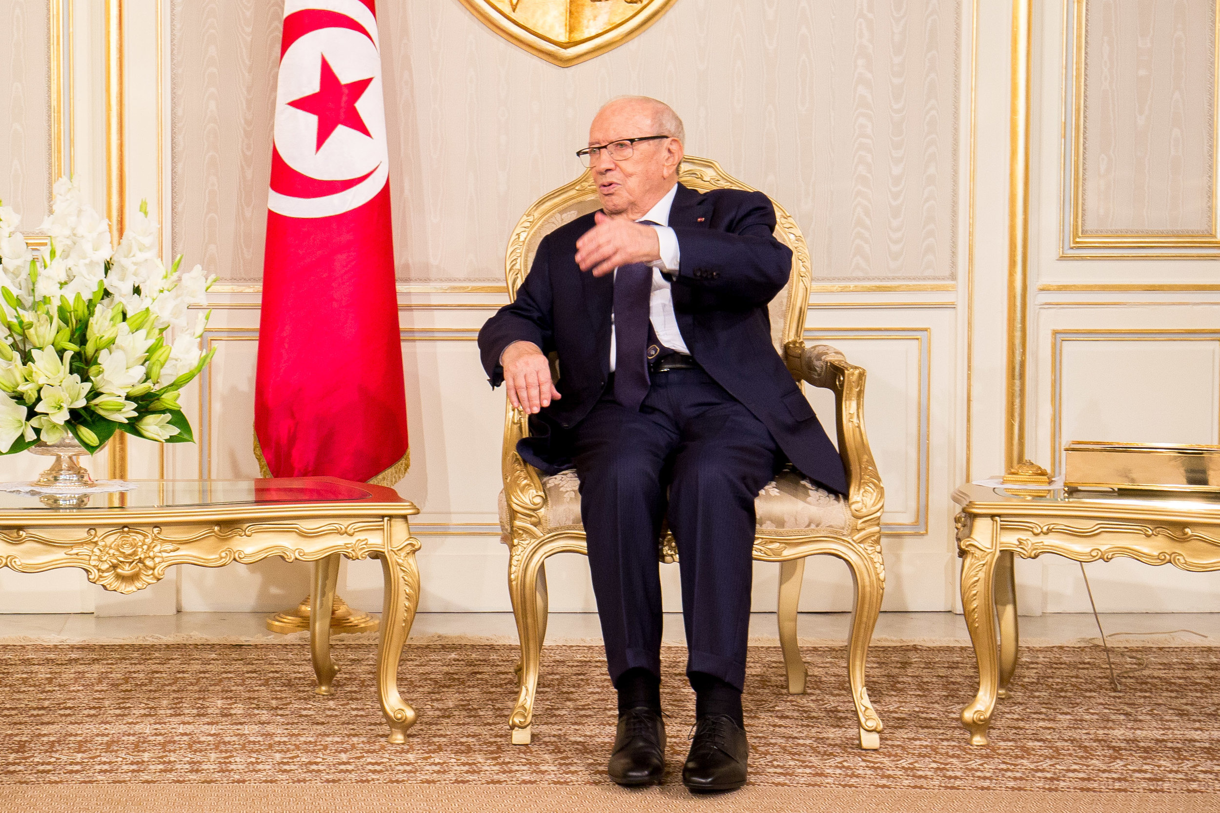 The late Beji Caïd Essebsi, Tunisian president who died at the age of 92. | Credit:  ITU Pictures