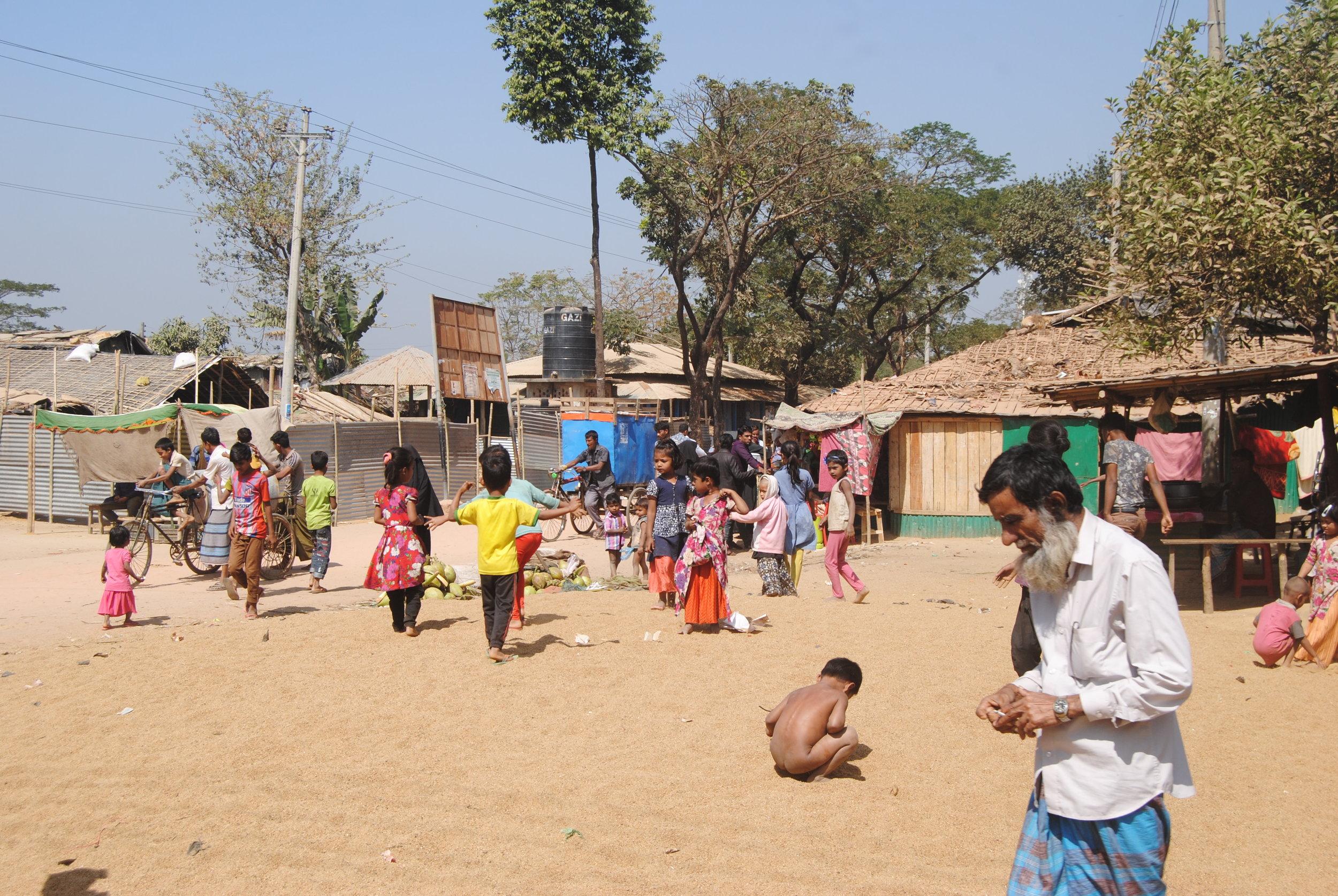 Rohingya refugees camp in Bangladesh. | Credit:  Captain Raju