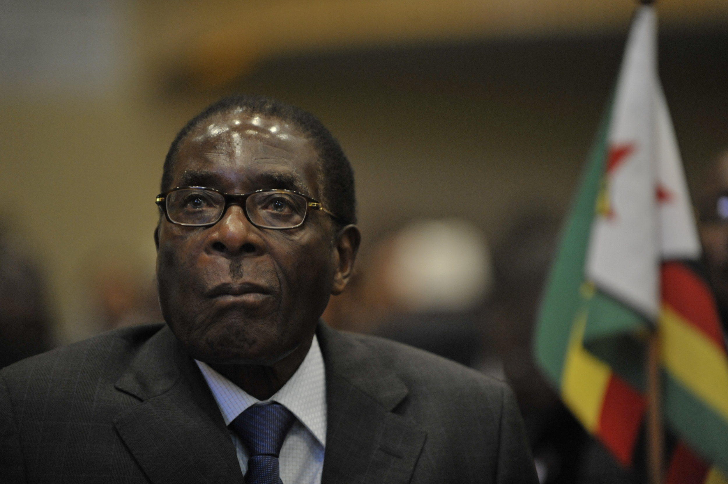 The late Robert Mugabe during the 12th African Union Summit in 2009. | Credit:  Jesse B. Awalt