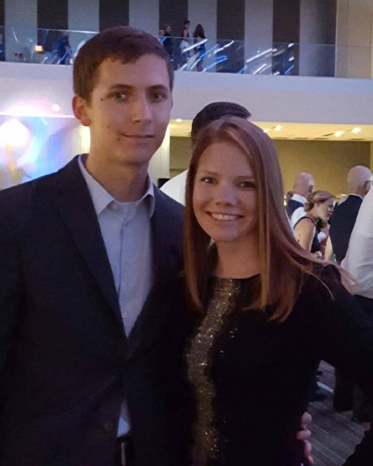 Date night at the NC4K Fashion Show. :)