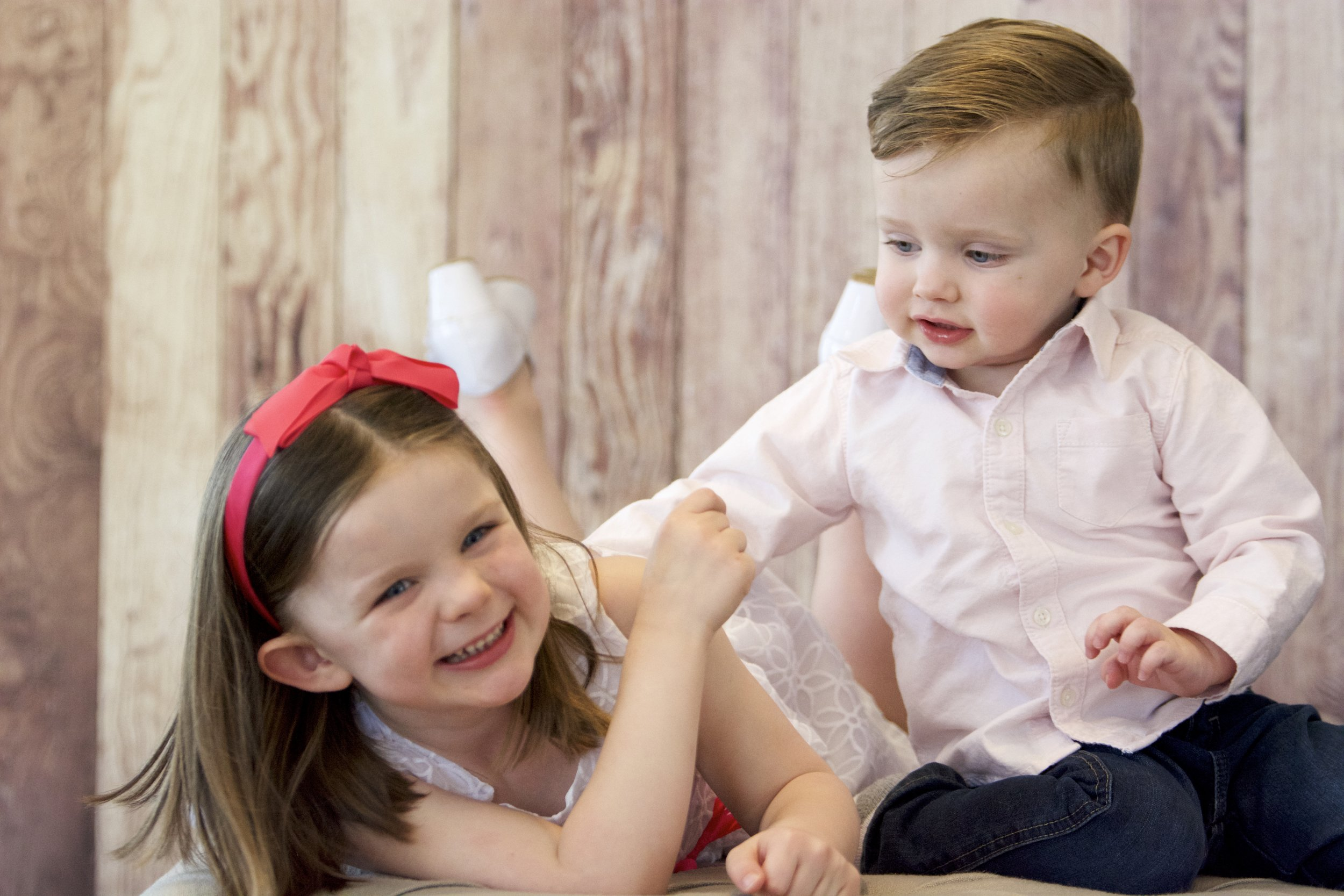 Amber Elizabeth took some amazing shots for us of just our kiddos in her beautiful Powell Studio