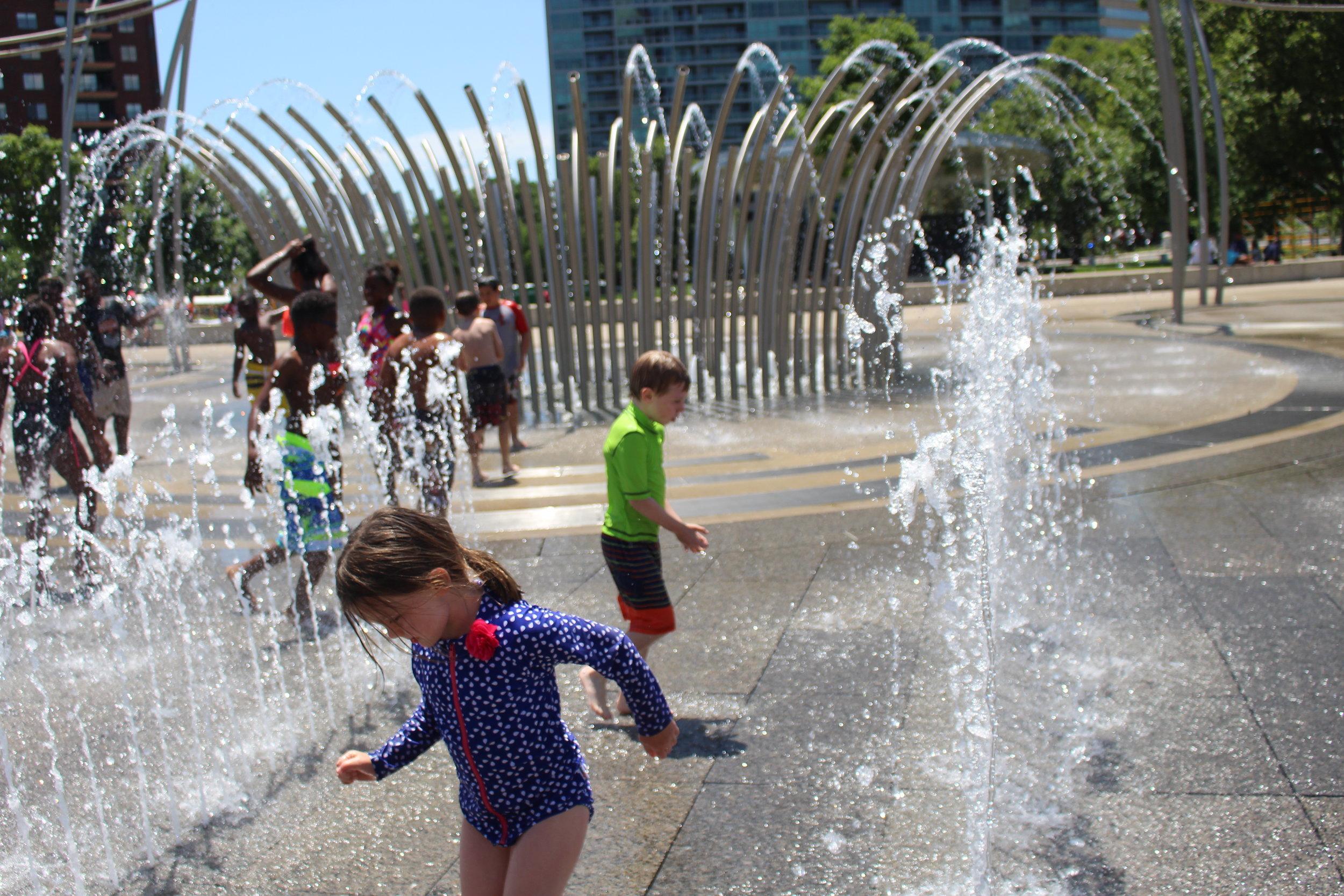 Splash Pads - 614 Mom's Guide to Summer! www.614mom.com