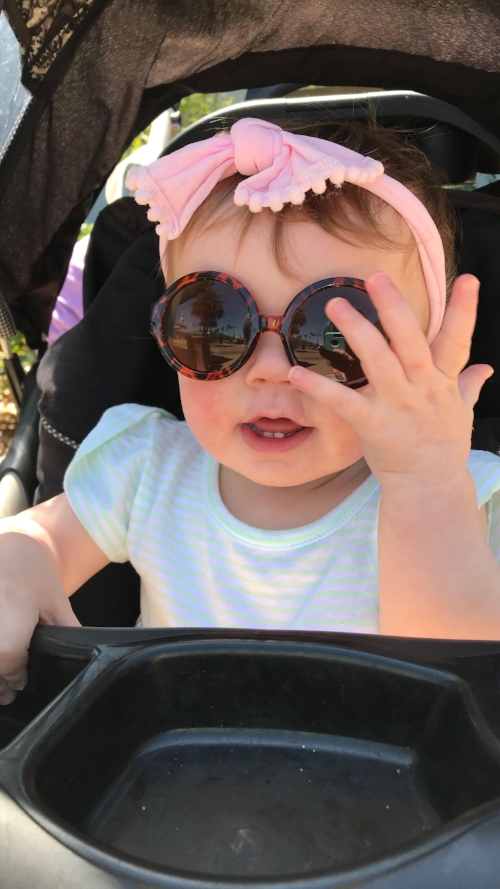 Those adorable GLAM sunglasses from Cub Shrub made for some really cute photos on vacation.