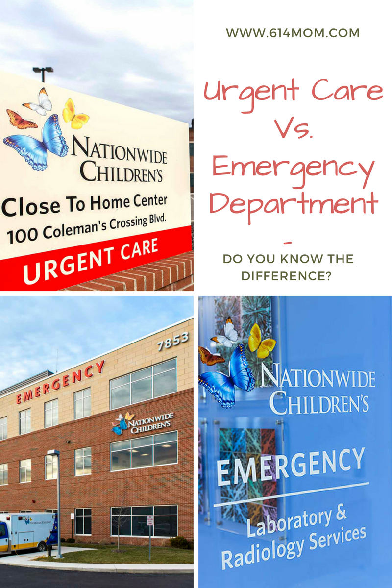 Emergency room vs urgent care Do You Know The Difference?