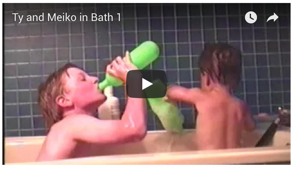 Ty and Meiko Bath #1