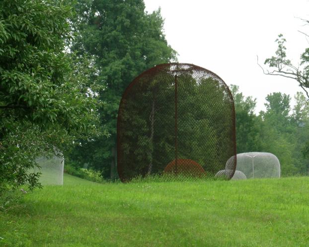 Valley Orbs, OMI International Sculpture Park