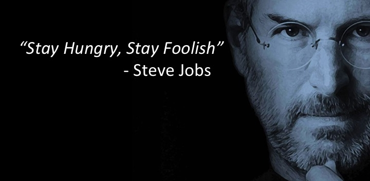 THIS AIN'T NO INDUSTRIAL AGE HOMIE: TEACHING IN THE INFORMATION AGE: Steve Jobs