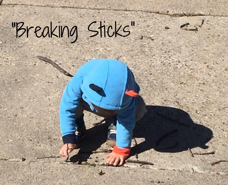 Breaking Sticks 1