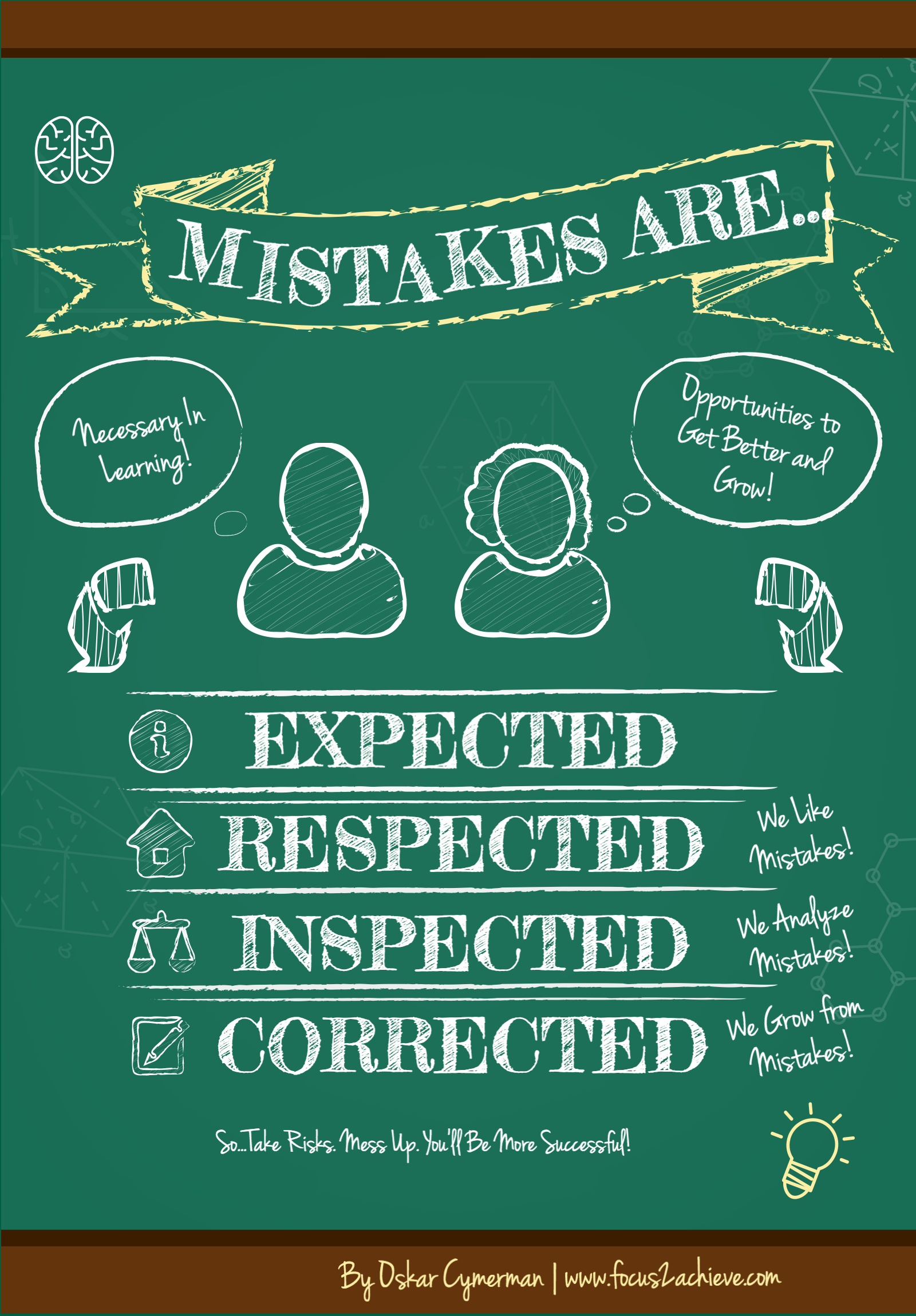 mistakes are poster old school