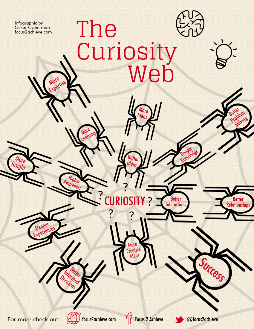 The Curiosity Web: The Advantages of Being Curious.