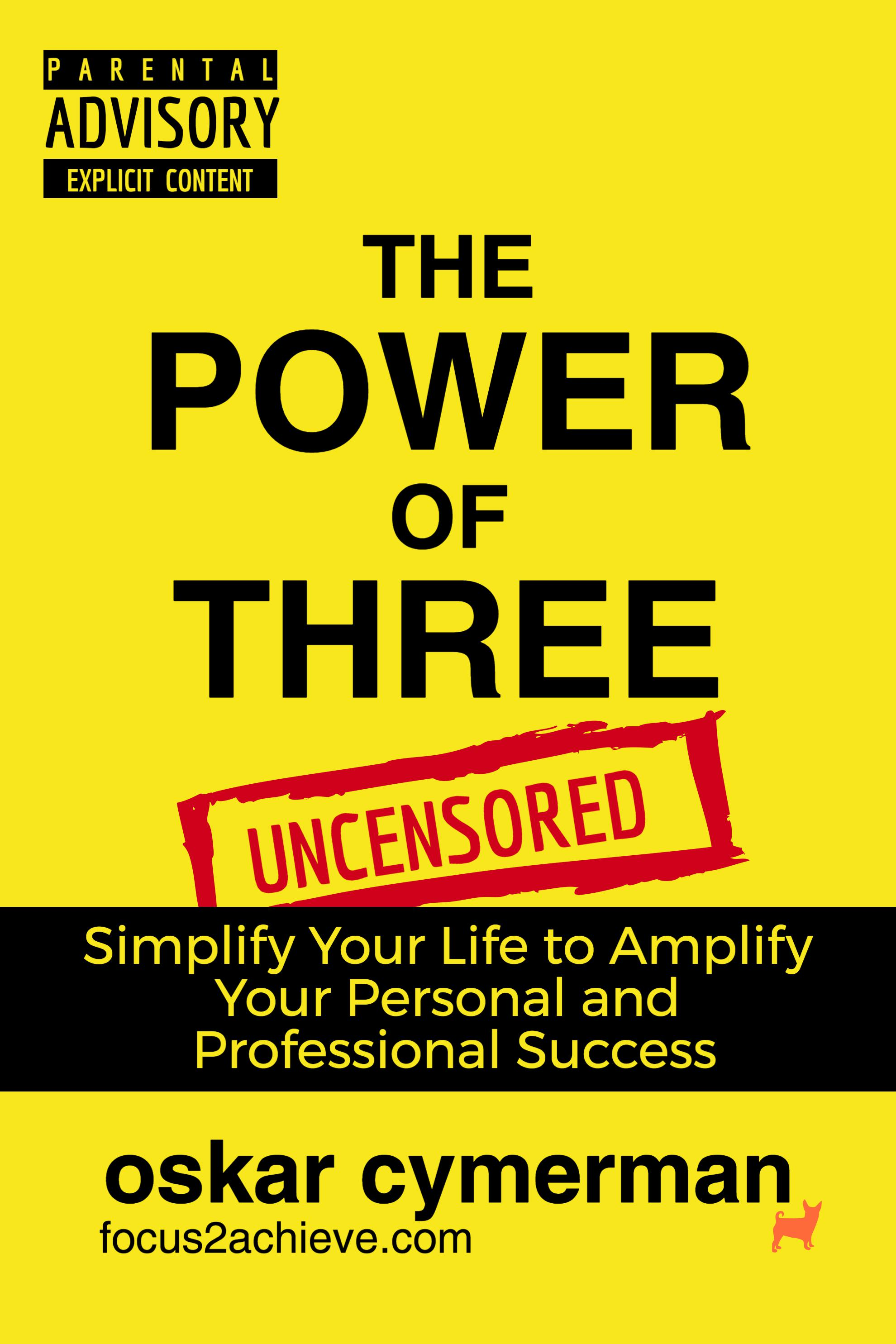 The Power of Three: Simplify to Amplify - FREE BOOK PDF