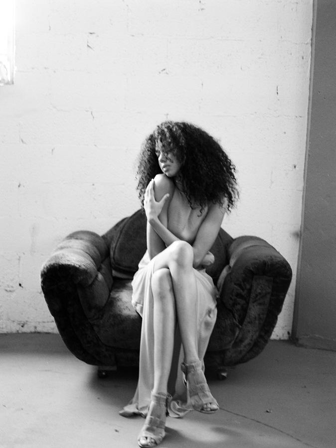 South Florida Editorial Portrait Photographer Denice Lachapelle black model miami