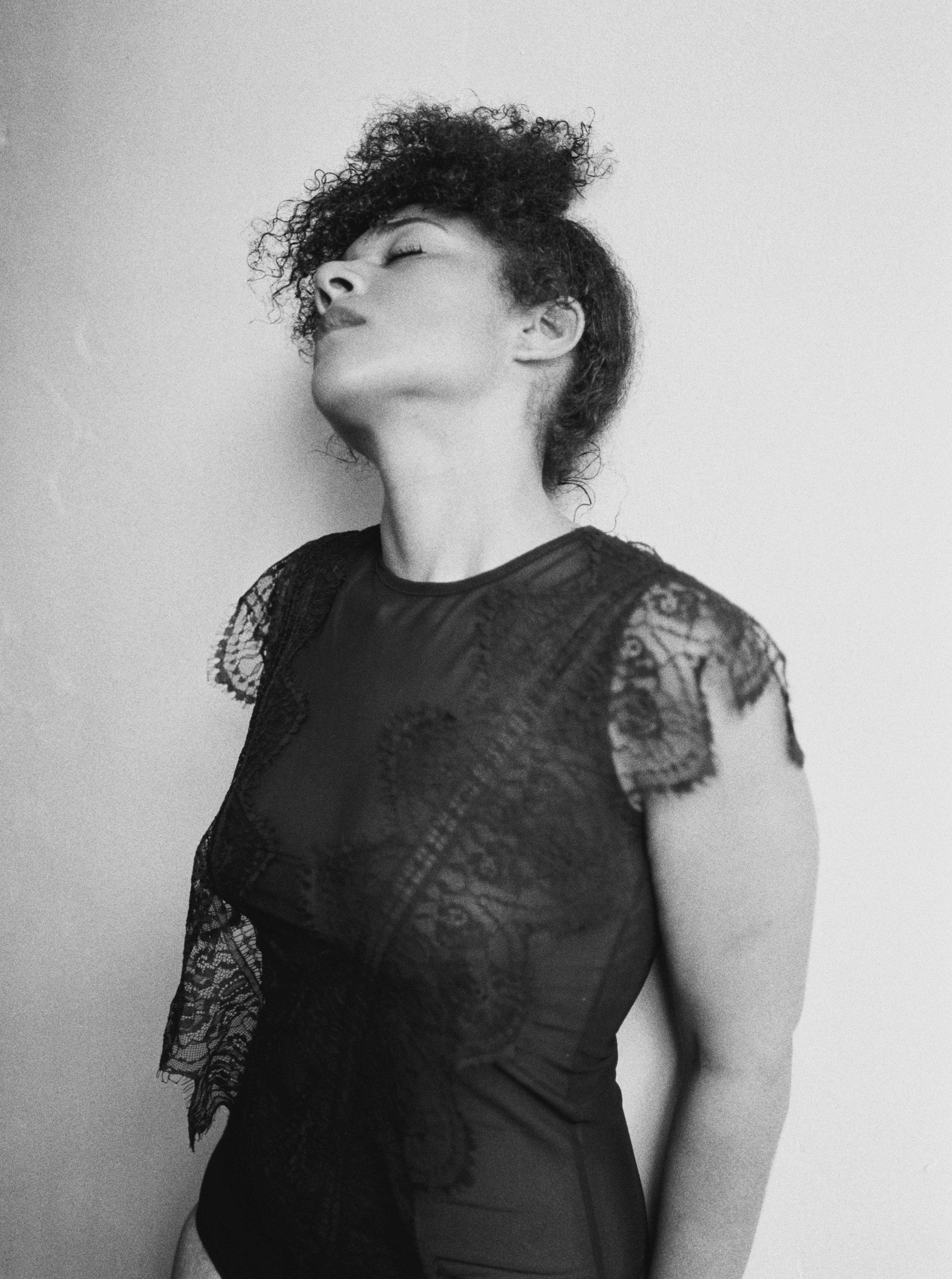 Black Woman Boudoir Idea Los Angeles Boudoir Photographer Film Photographer Denice Lachapelle Photography.jpg
