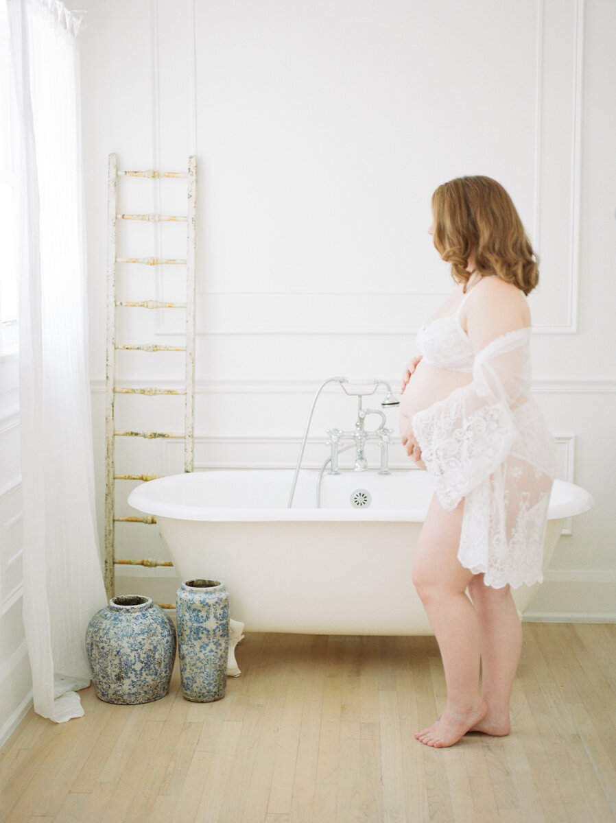 Maternity Boudoir Photographer South Florida, Denice Lachapelle