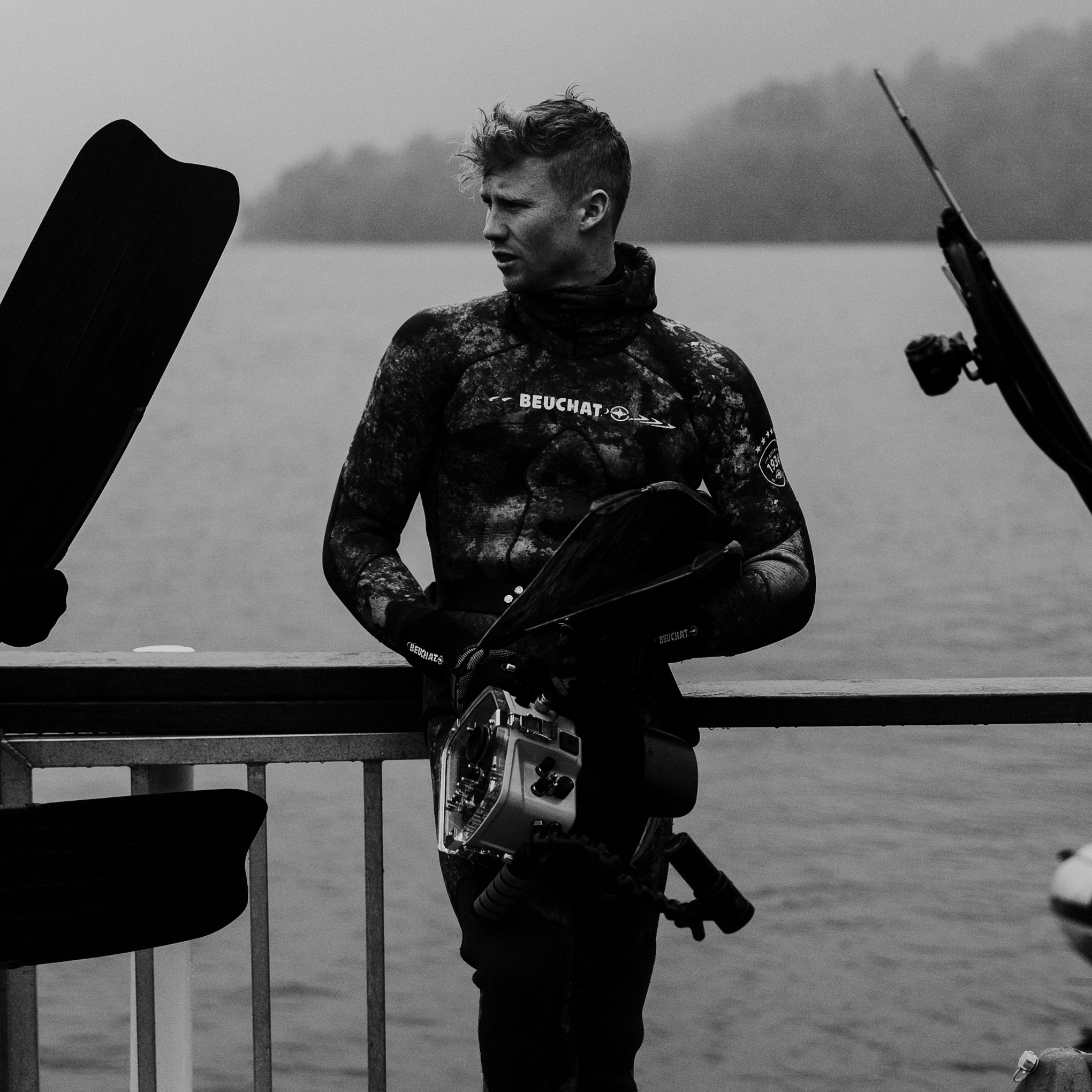 Sam wild - PhotographerWild by name, the great outdoors is his loveDiving as a uni student was how he got his grub.With a spear gun and Go-Pro; one in each handSam'photography has made waves back on land.Working full time amongst the sharks and crays,His lens- working magic is worth a damn good gaze.
