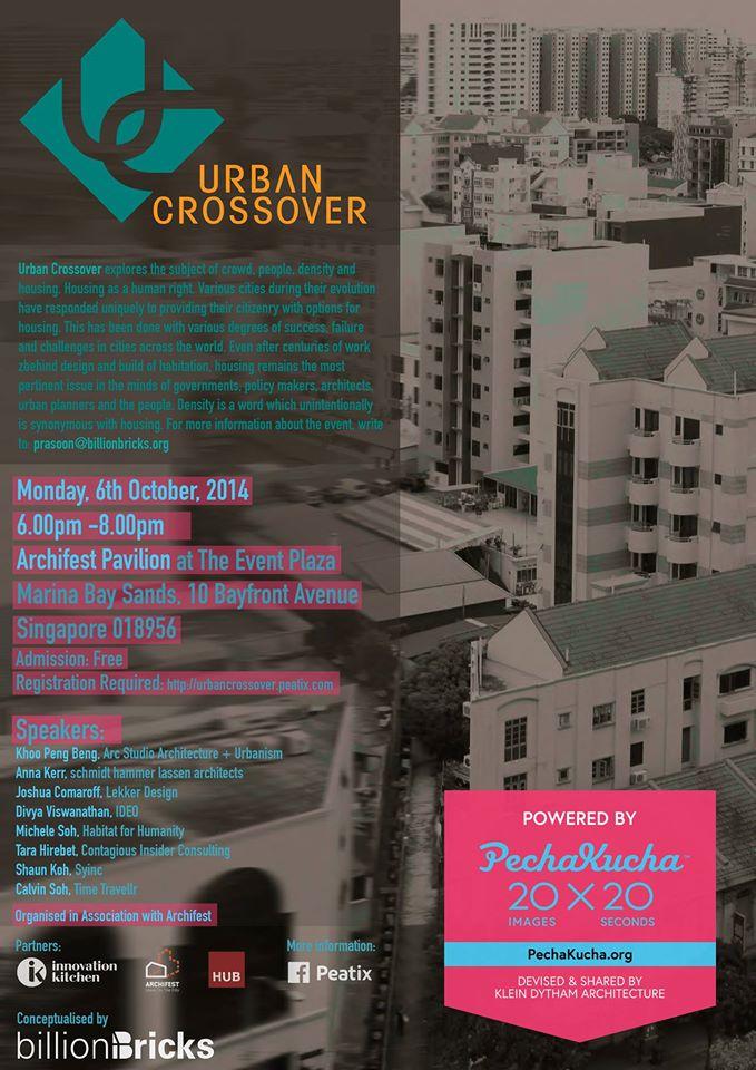 URBAN CROSSOVER PECHA KUCHA 2014