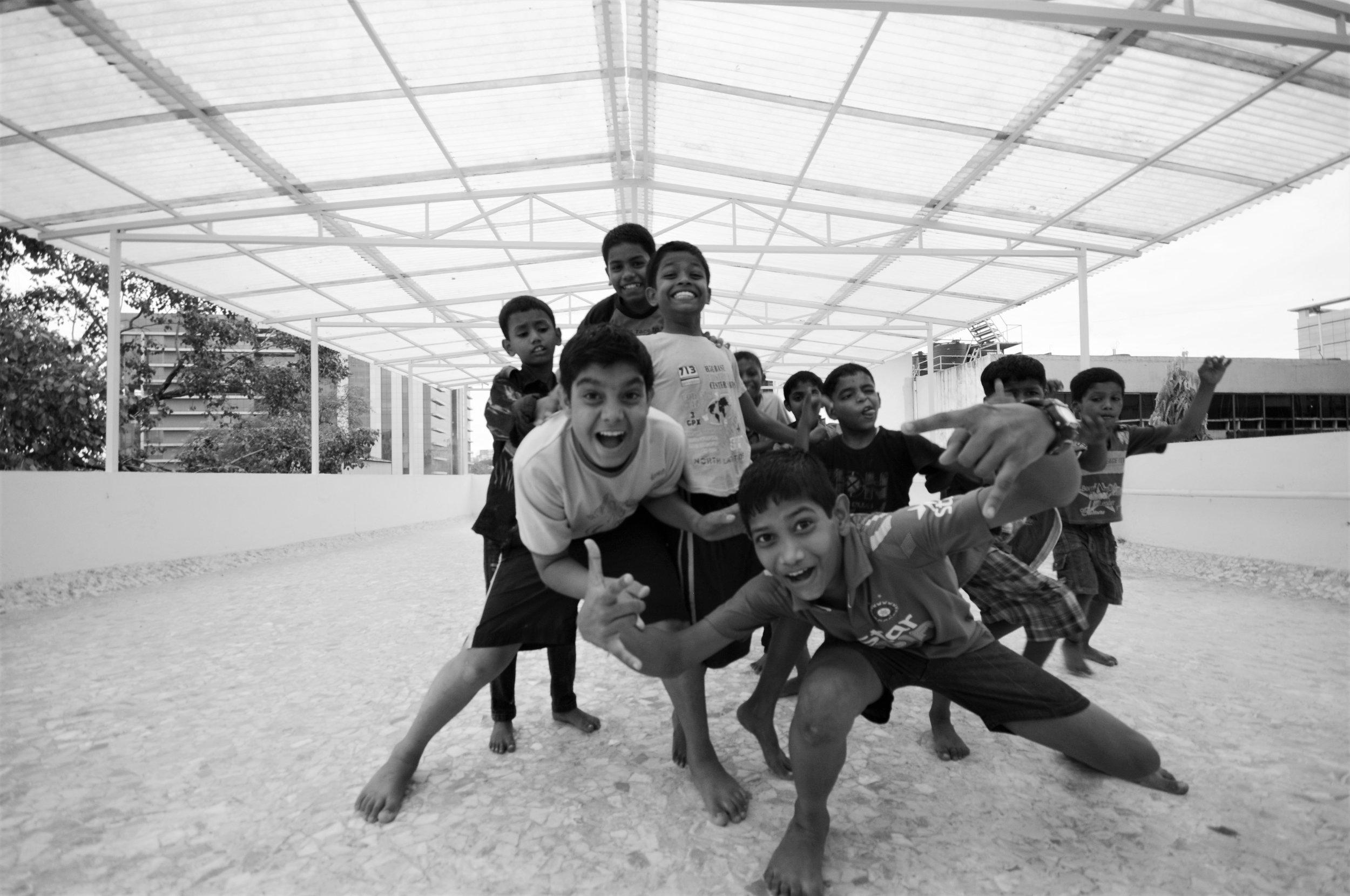 bB Day & Night Shelter for Boys, Mumbai -  Roof (2).JPG