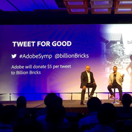 Adobe Symposium 2016, Tweet for Good, 2016