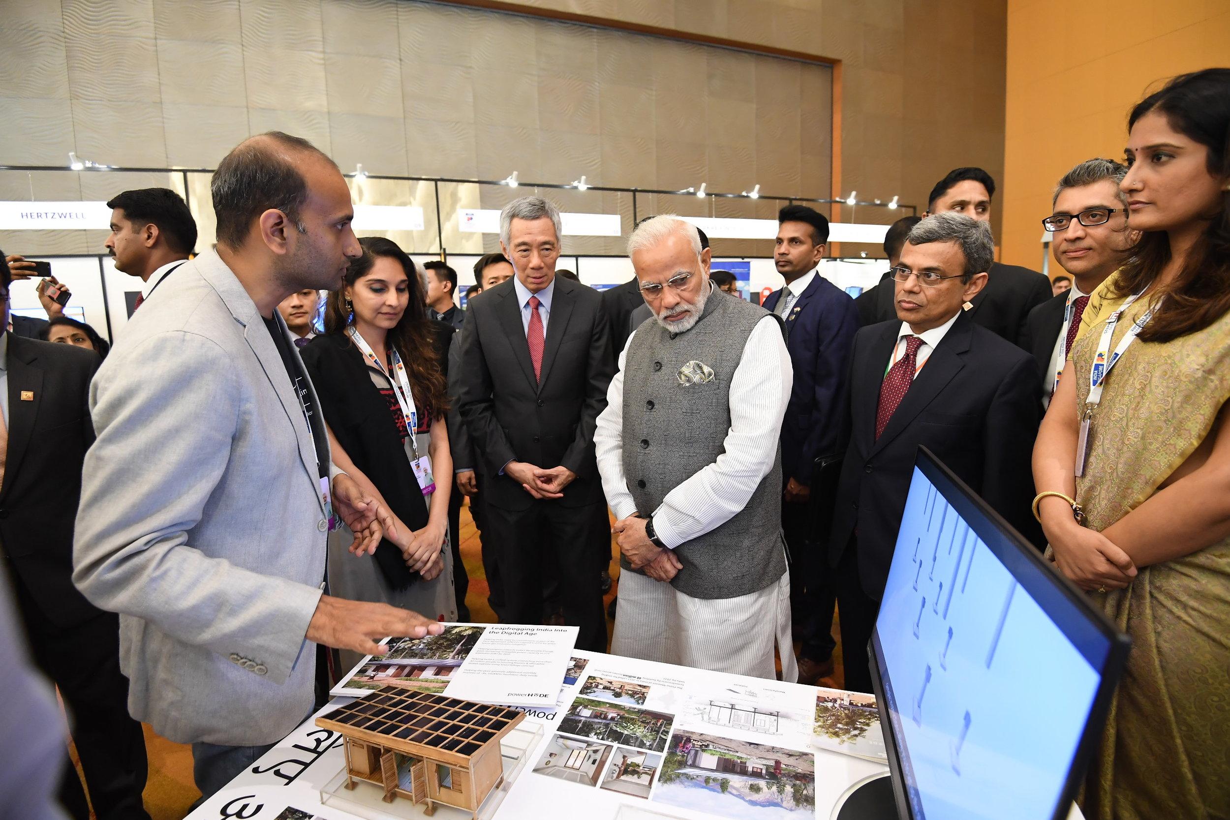 Indian Prime Minister's visit, July 2018