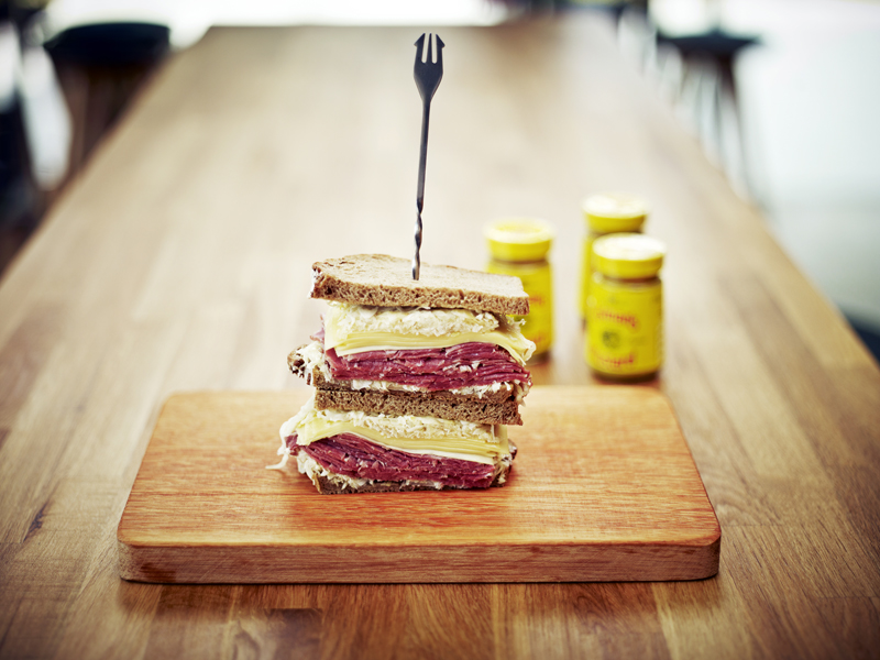 Reuben Sandwich | Cafe Melba Goodman Arts Centre
