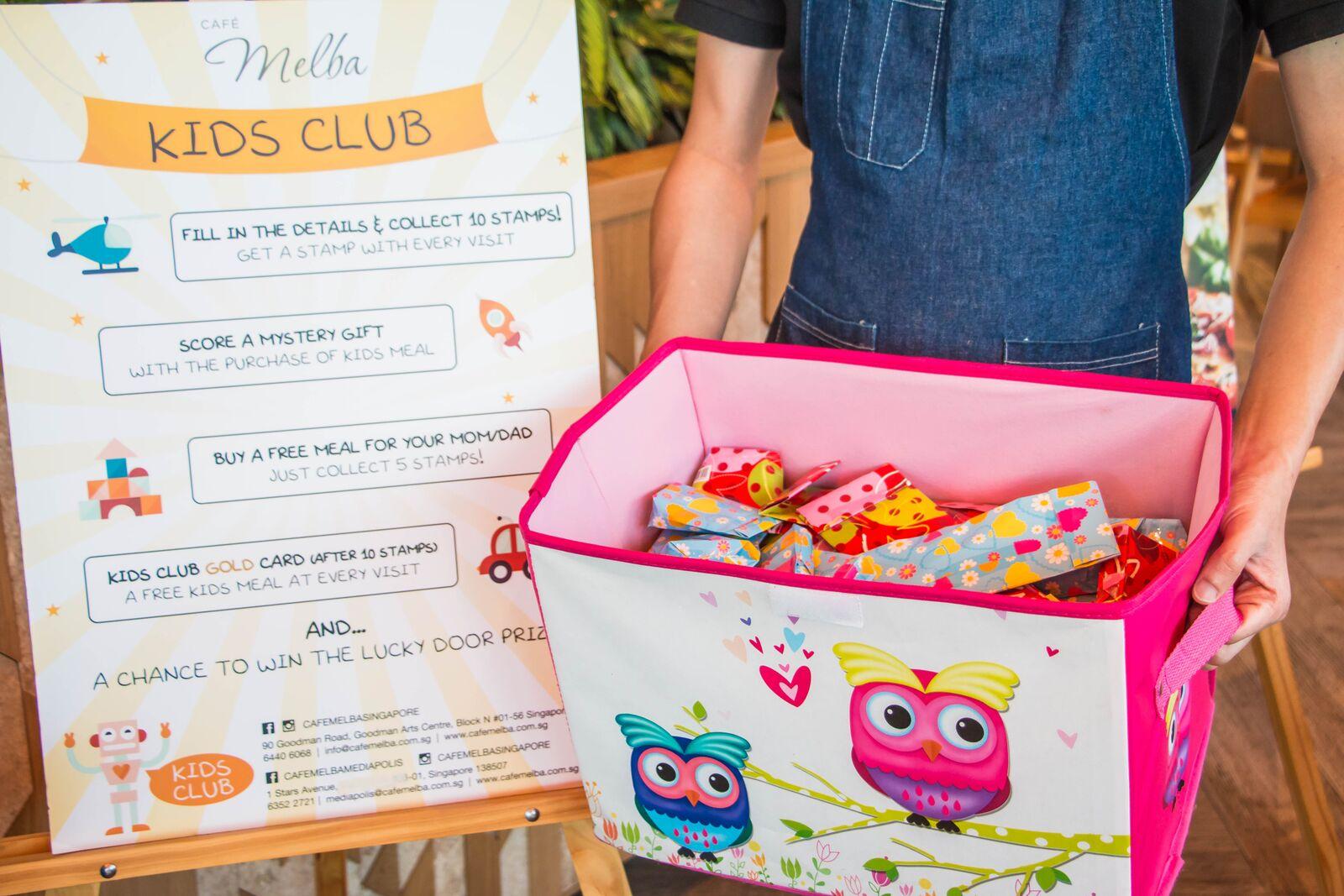Kids Club Prizes