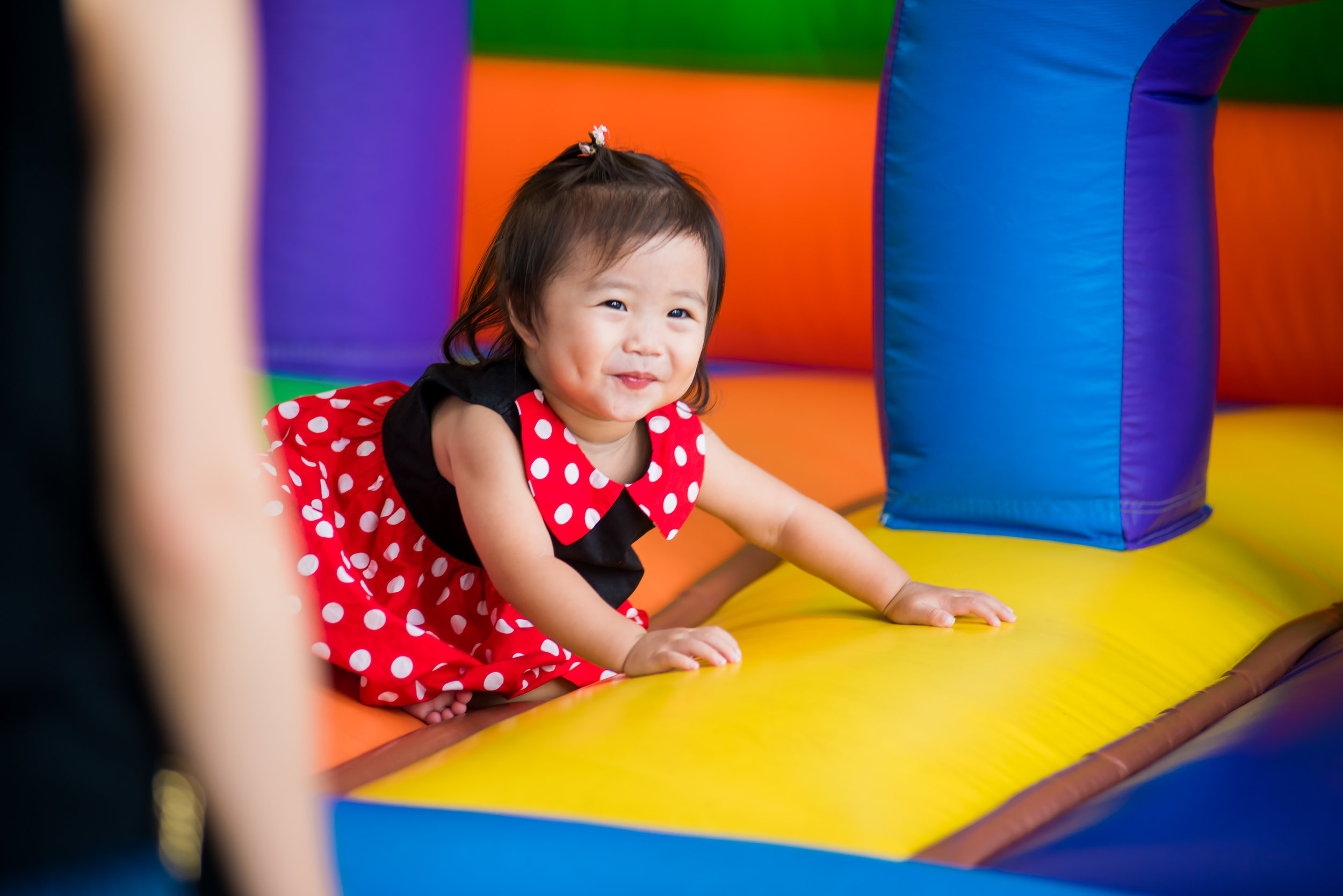 We've got our bouncy castle available from 3pm – 7pm on weekdays & 9am – 8pm on weekends (weather permitting).
