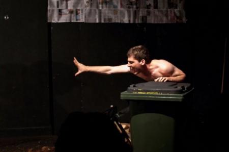 Sean Ohlendorf as Edgar in  King Lear (2010).