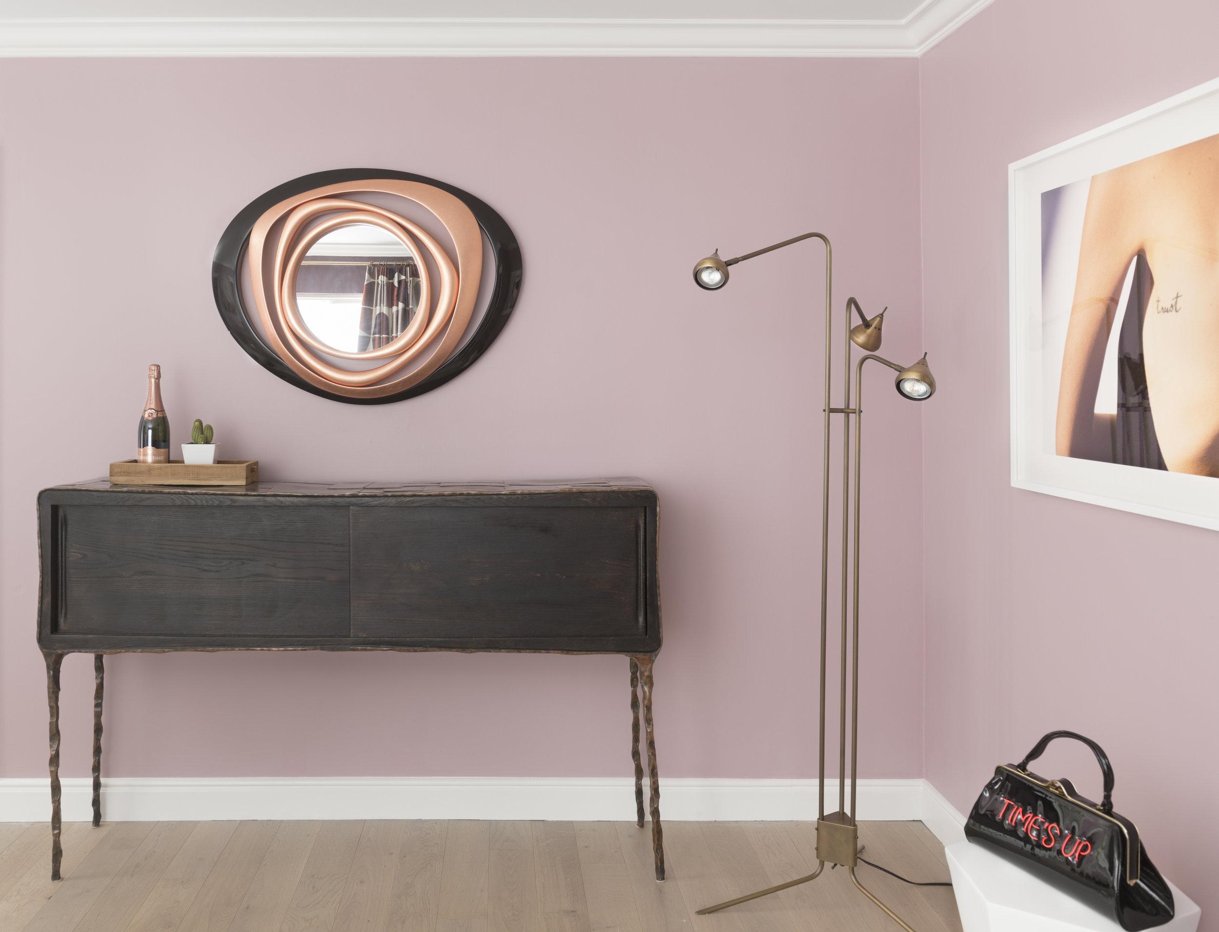 Rose Lounge Melanie Coddington Hardwood Flooring Install