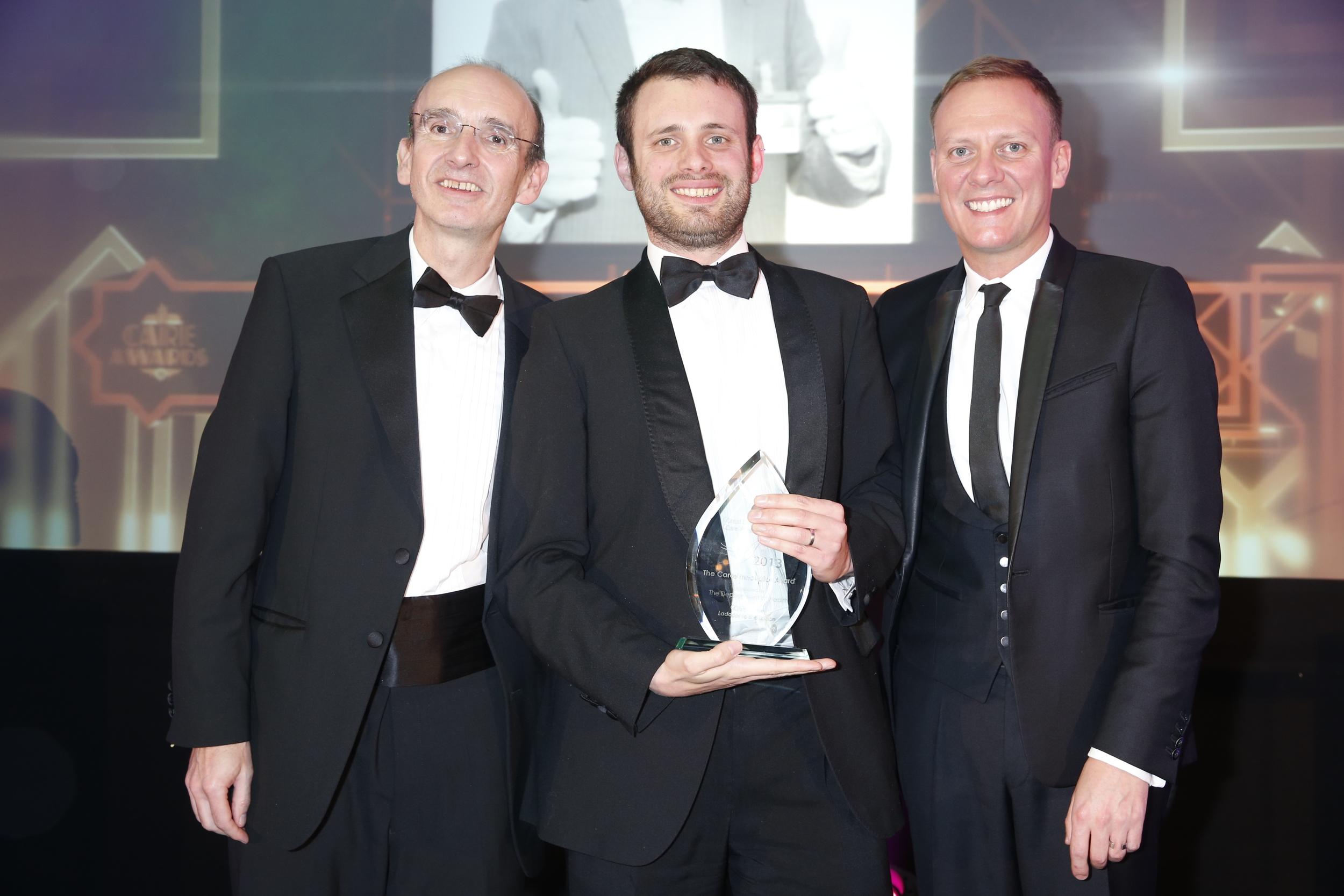 Chris Yakult Innovation award.JPG