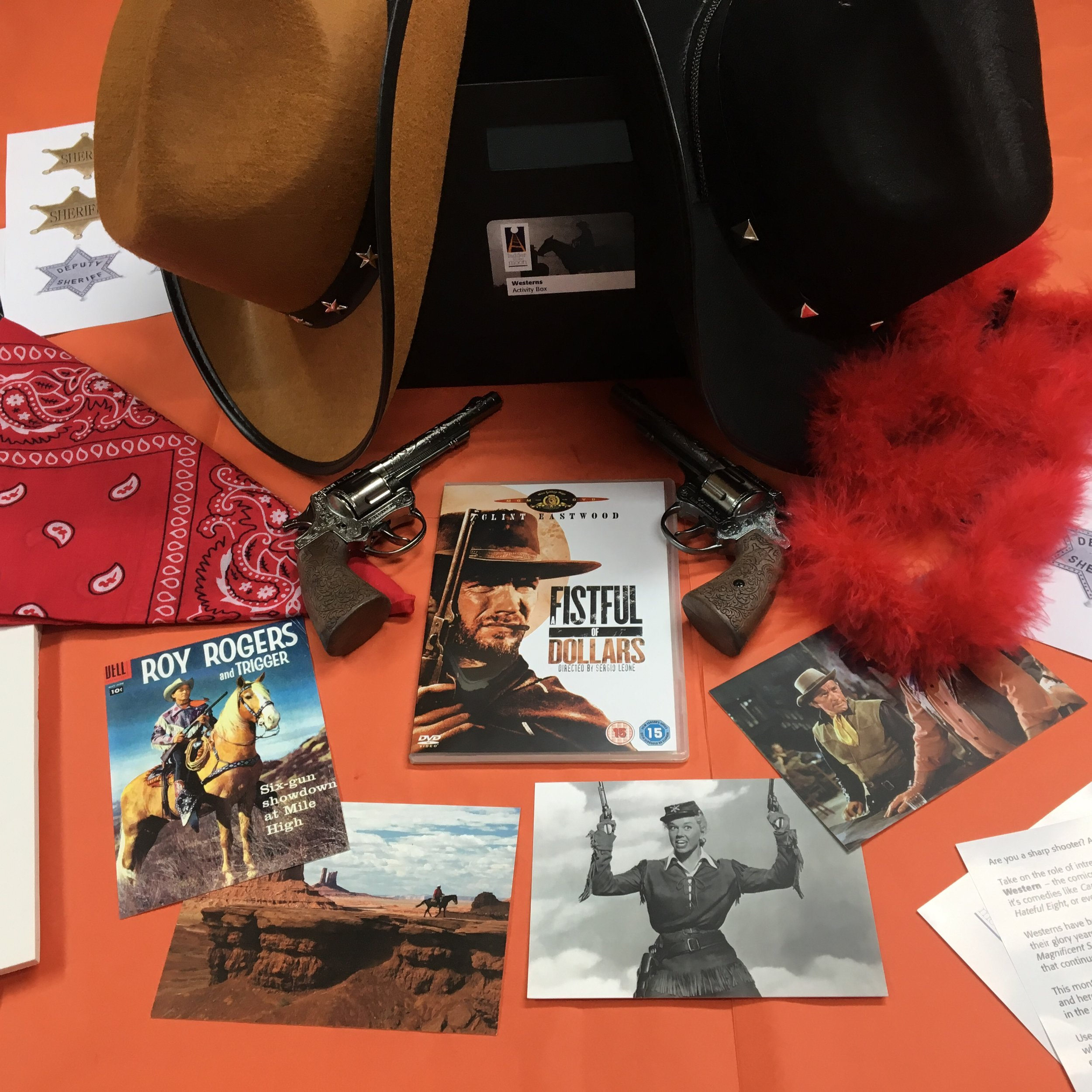 Our Westerns Creative Resource Box (*please note: contents are potentially magic, trained magicians will see better results)