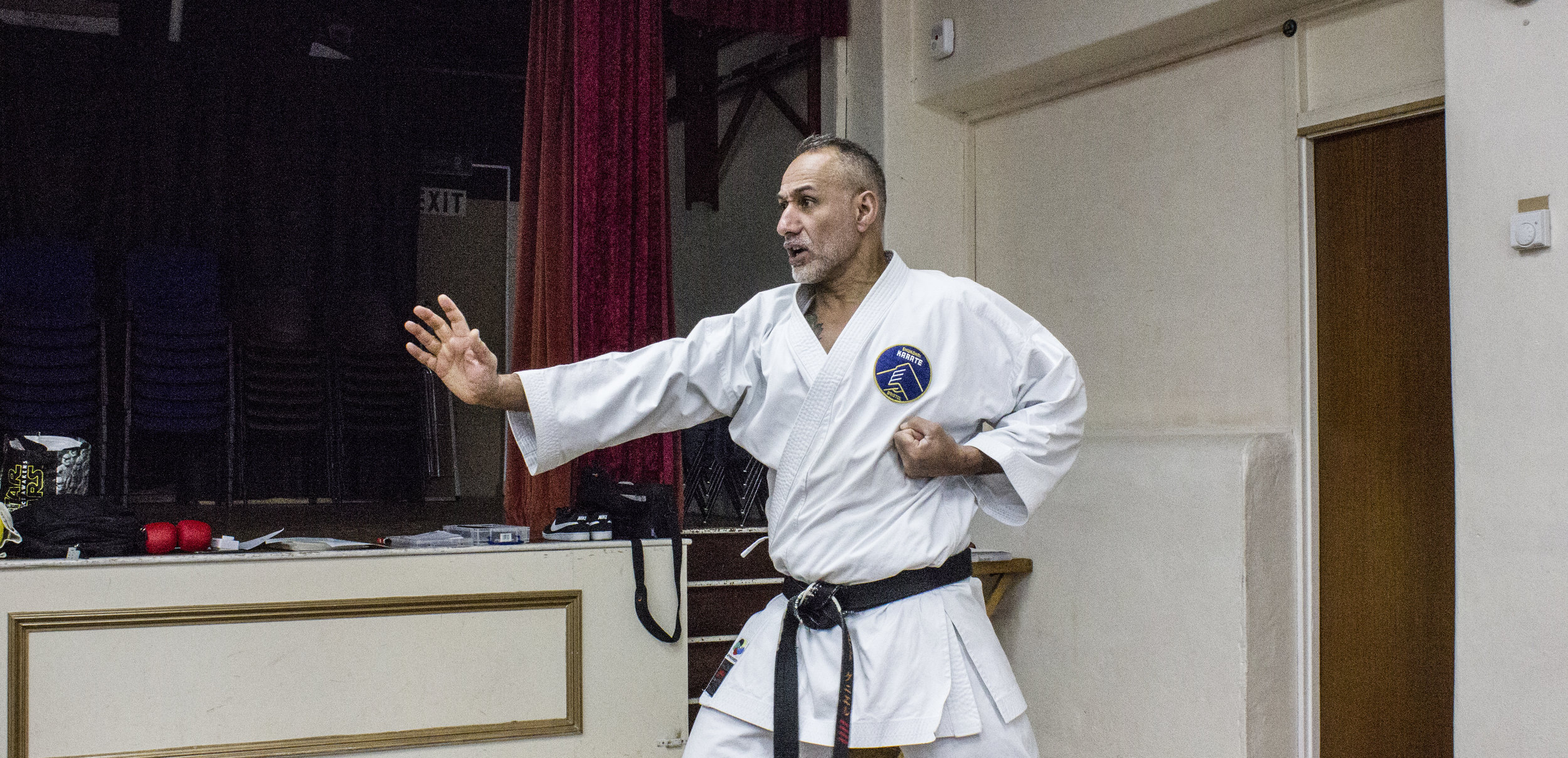 A combination demonstration at our St Saviours dojo in Frampton Cotterall.