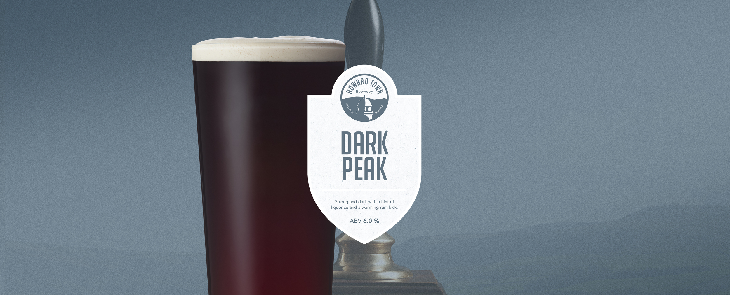 A strong and dark porter with a hint of liquorice and a warming rum kick. 6.0%ABV