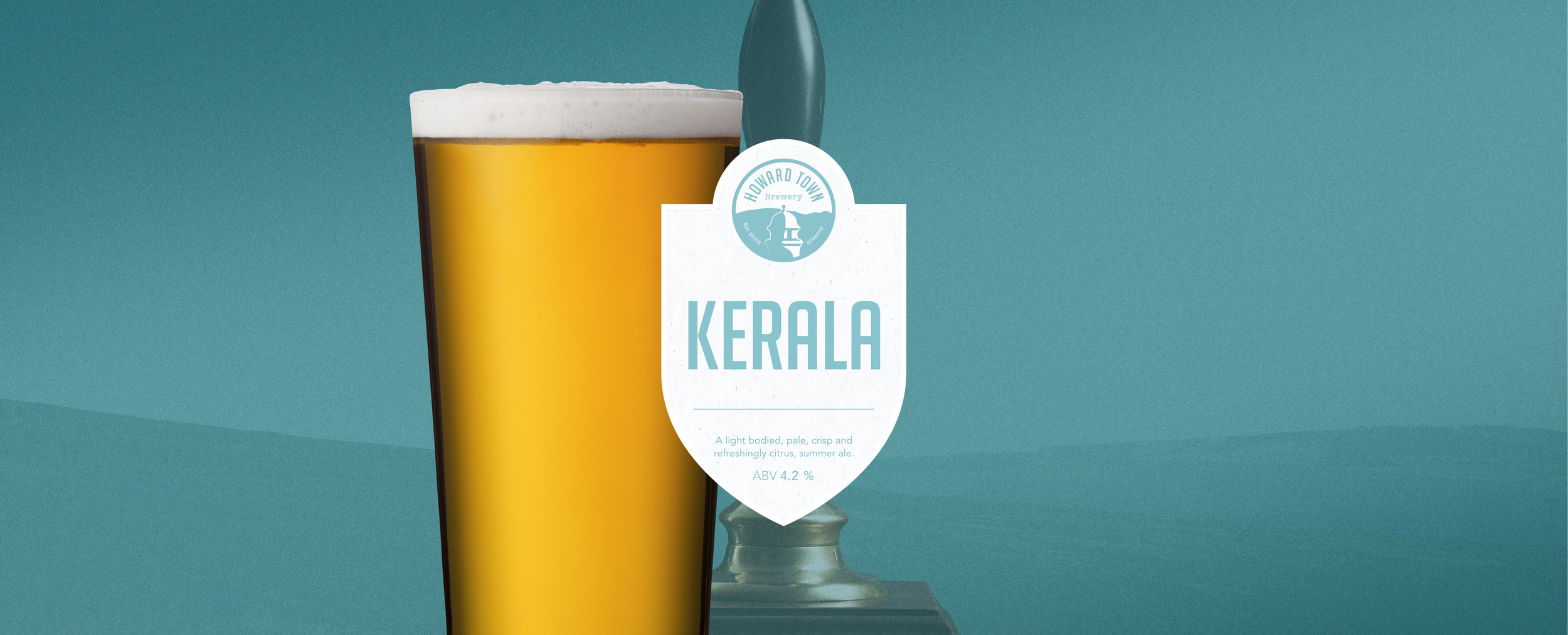 A light bodied pale crisp and refreshingly citrus summer ale. 4.2%ABV