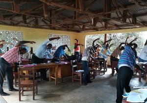 Programa de capacitación de maestros en África