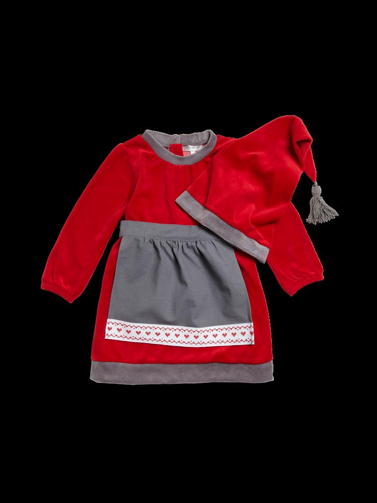 """Tomte"" dress - Kappahl, 159 SEK"