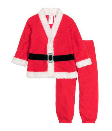 """Tomte"" costume, fleece - HM, 199 SEK"