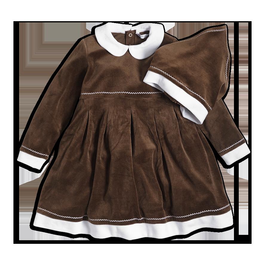 Gingerbread dress - Lindex, 179 SEK