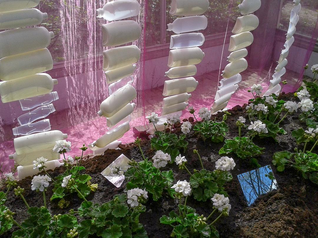Detail White Garden.
