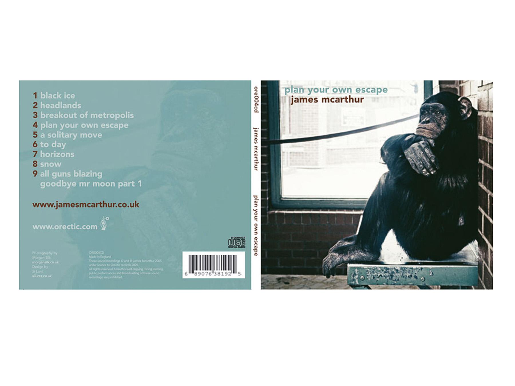 James McArthur CD -