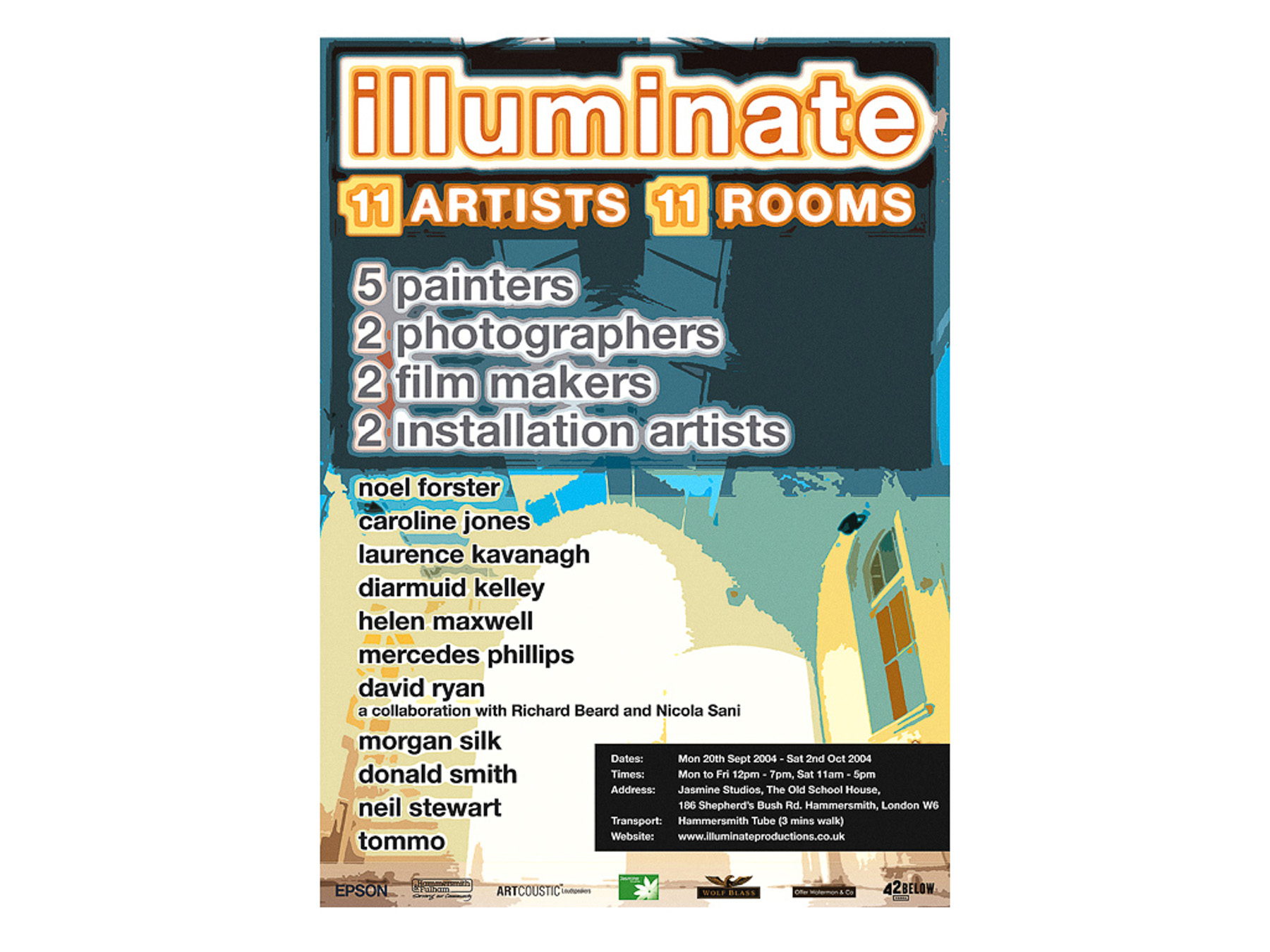 Illuminate Exhibition Poster -