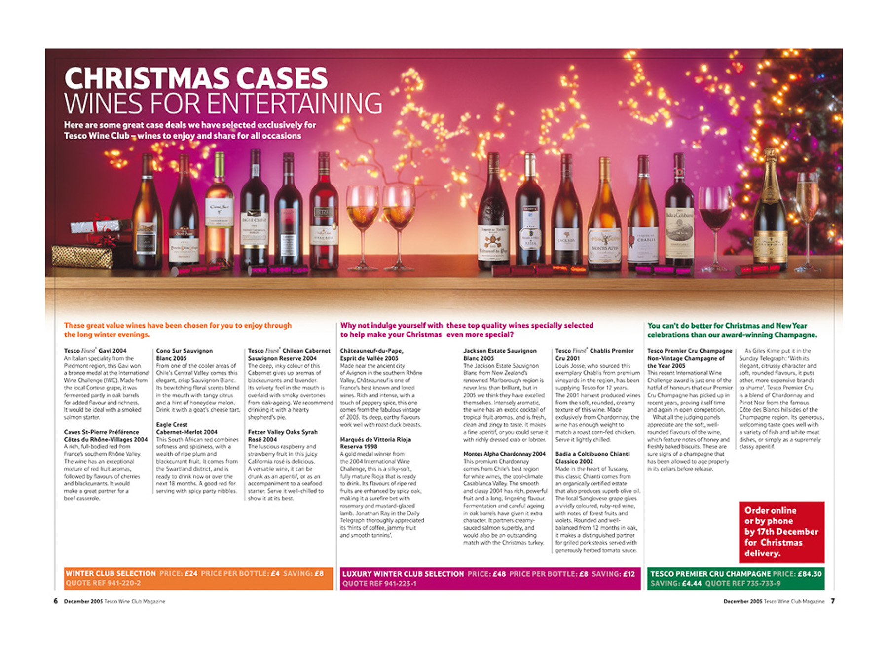 Tesco Wine Club Magazine -