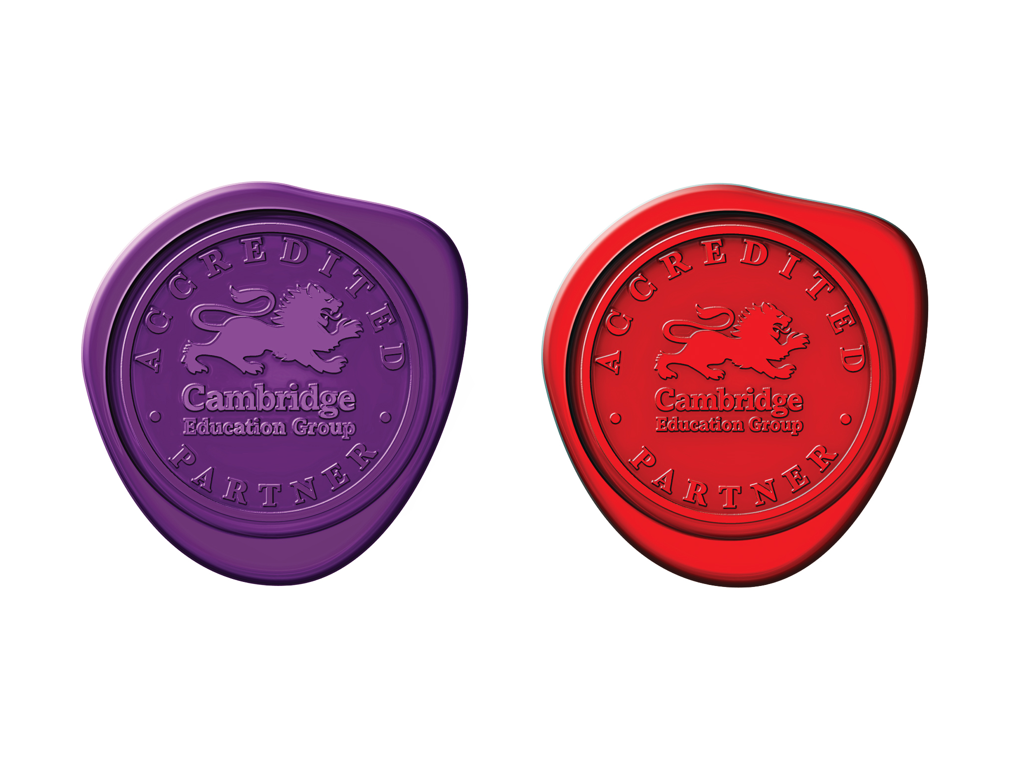 Cambridge Education Group Logo Stamp -