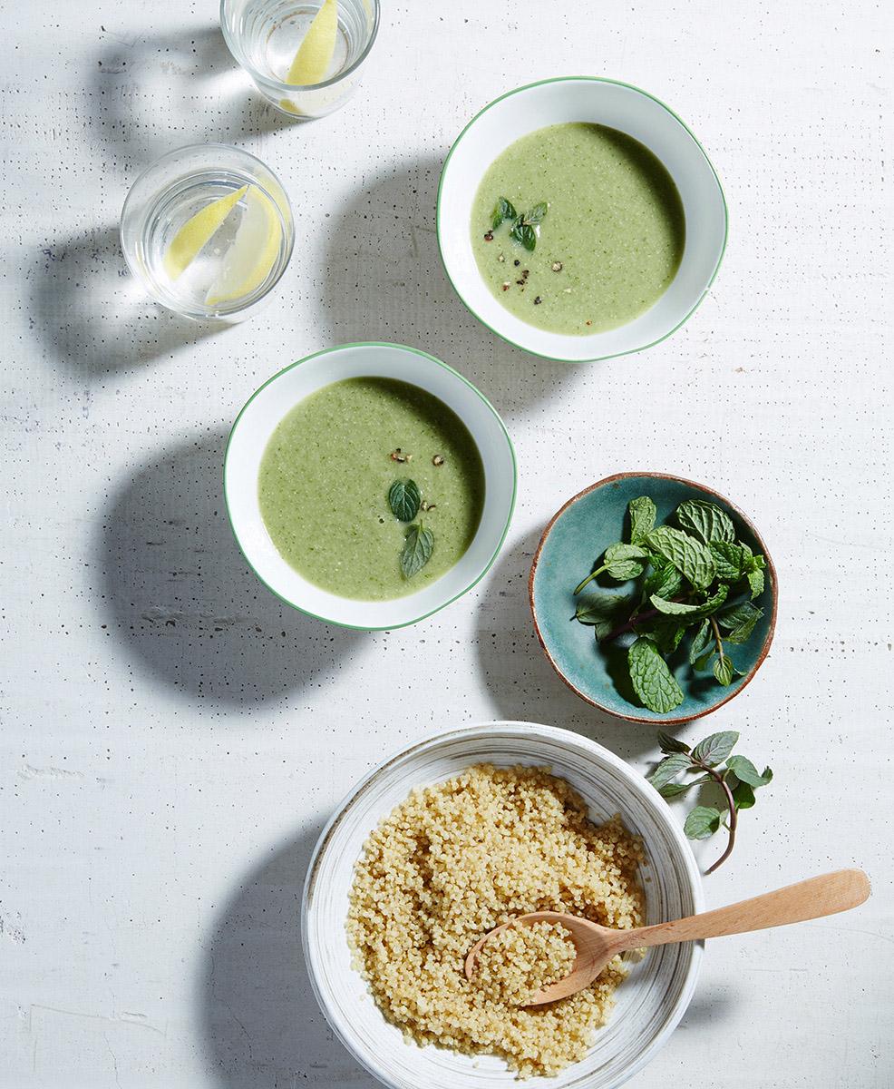 Food styling by Hadas Smirnoff, prop styling by Martha Bernabe