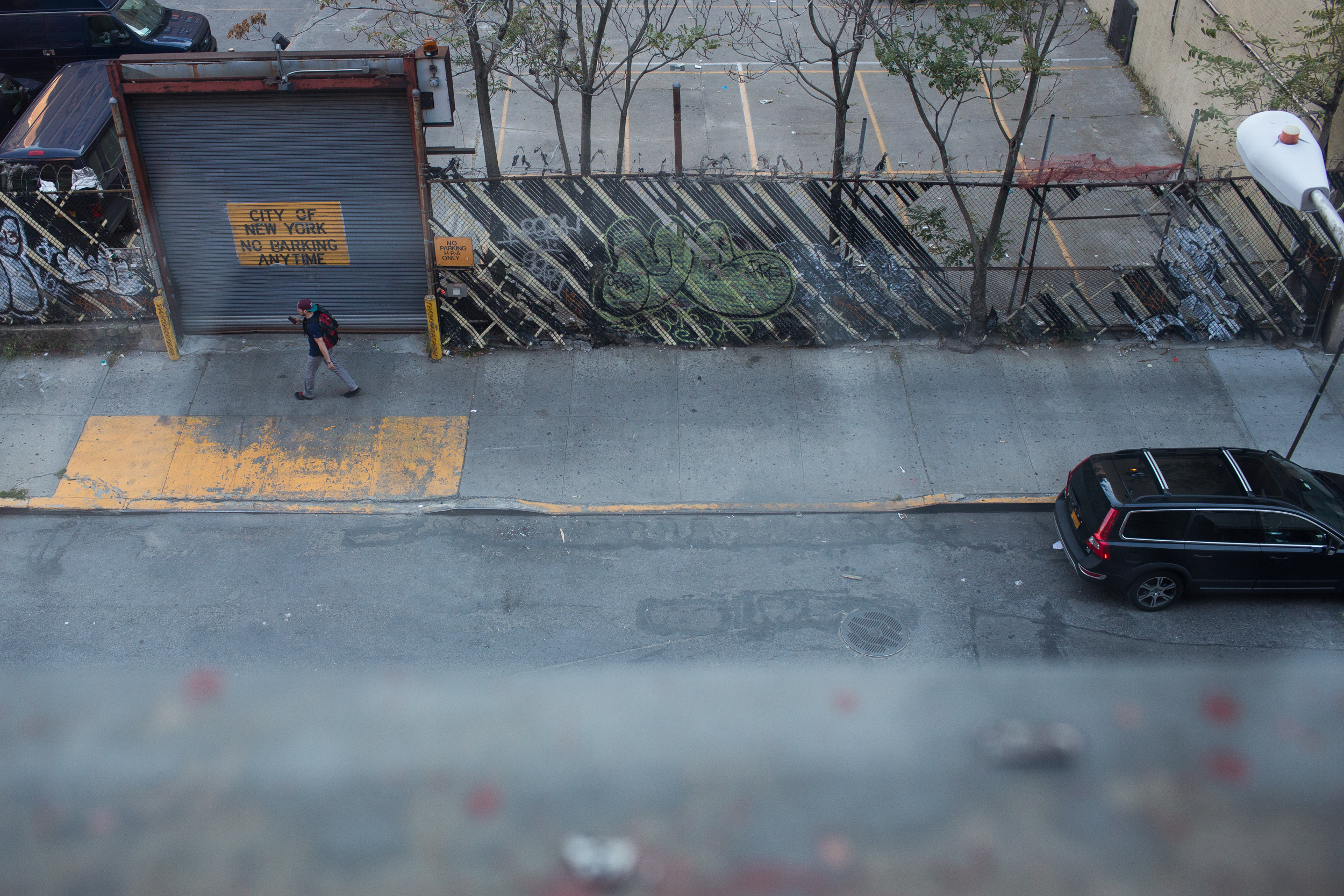 From the window sill outside of Magnum Foundation in Lower West Side Manhattan, N.Y. on Oct. 20, 2015.