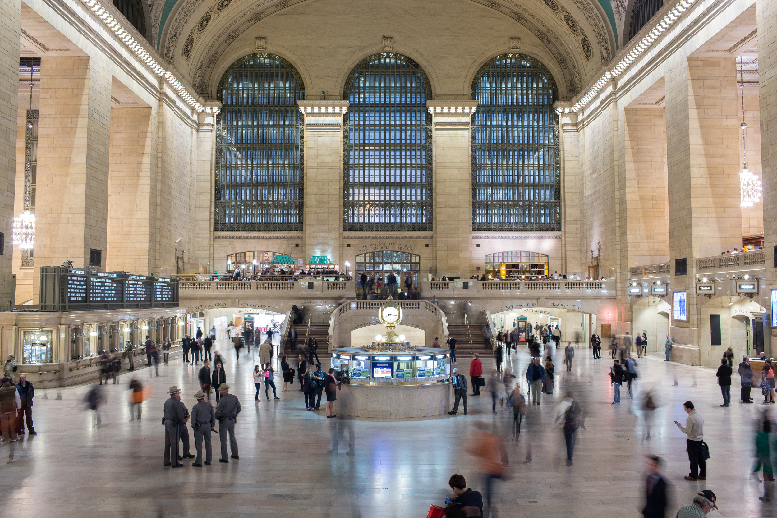 Grand Central Station on Oct. 20, 2015.