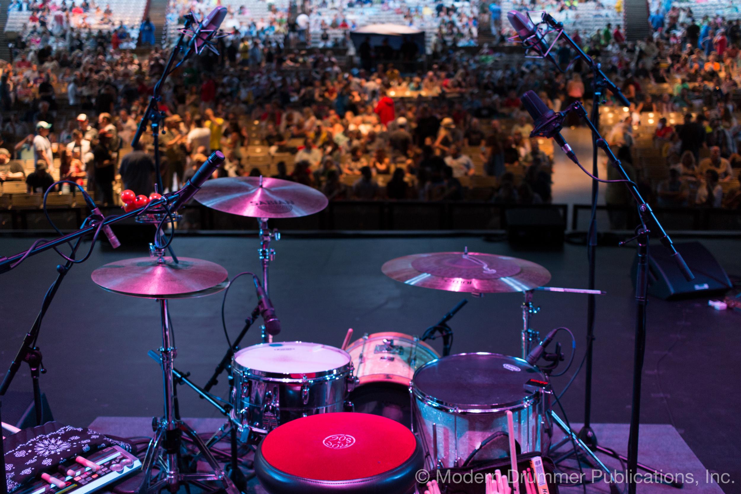 Johnny Radelat Drumset