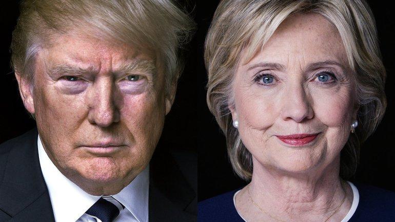 """Los """"mentirosos"""" Donald Trump y Hillary Clinton"""